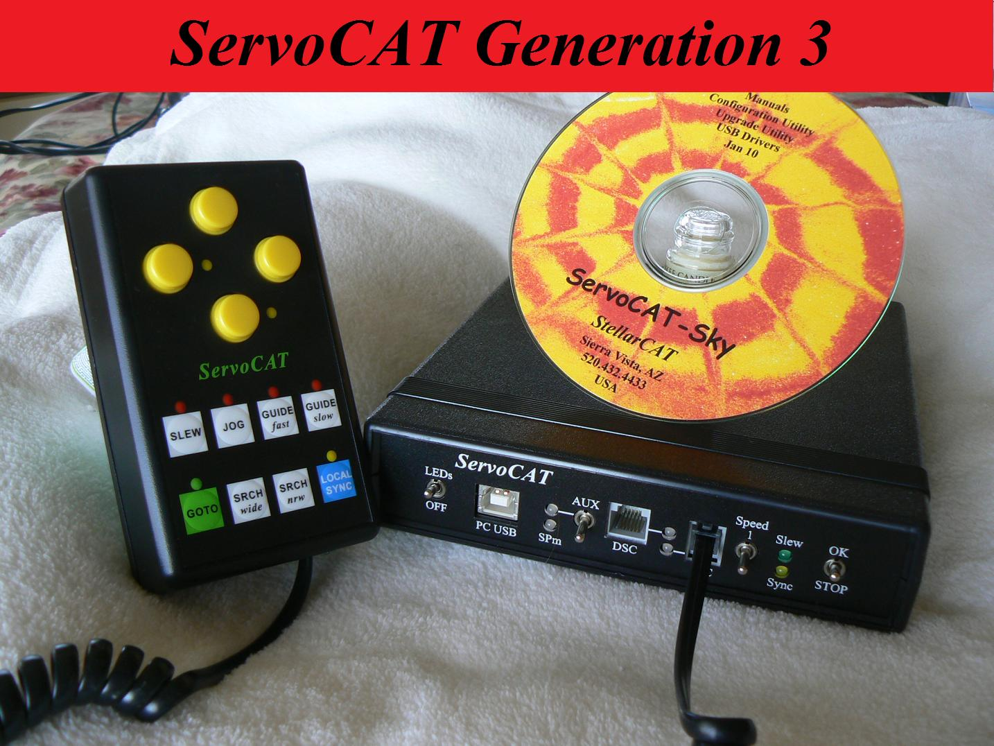 Gen3 ServoCAT and next-gen Wired Hand Controller